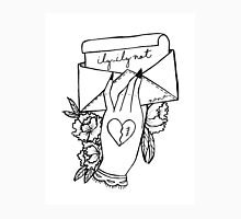 Love Letter by: Nana Women's Fitted V-Neck T-Shirt