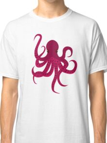 Cute Red Octopus Classic T-Shirt