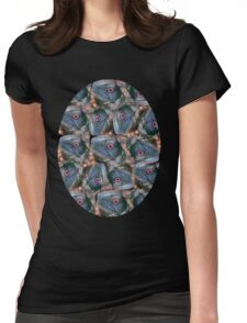 eye of the turtle  Womens Fitted T-Shirt