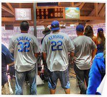 Dodger Fans Poster