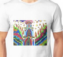 ABSTRACT HOUSE IN THE VALLEY Unisex T-Shirt