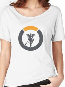 OVERWATCH - MERCY - LOGO Women's Relaxed Fit T-Shirt