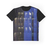 Office Night Reflections Digital Photograph Graphic T-Shirt