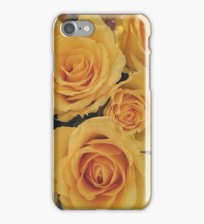 Yellow Roses iPhone Case/Skin