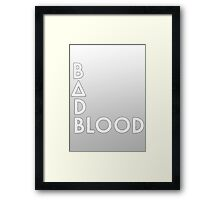 Bastille - Bad Blood #2 Framed Print