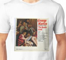 George Martin lp cover, the girls Unisex T-Shirt