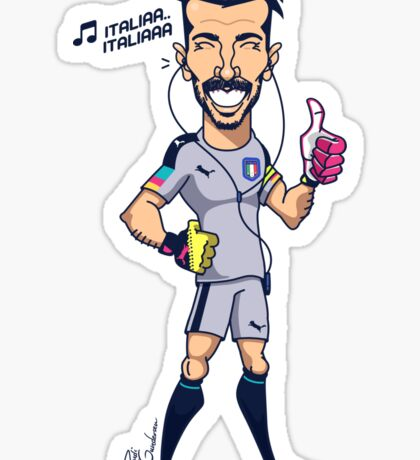 Buffon (SuperEuros) Sticker