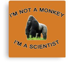 I'm a Scientist! Canvas Print