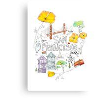 Friends + Neighbors : San Francisco Canvas Print