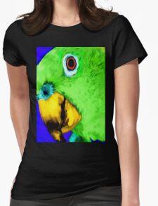 green bird Womens Fitted T-Shirt