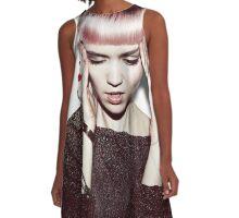 Grimes A-Line Dress