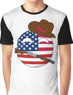 USA Ball Graphic T-Shirt