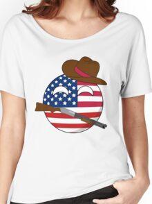 USA Ball Women's Relaxed Fit T-Shirt