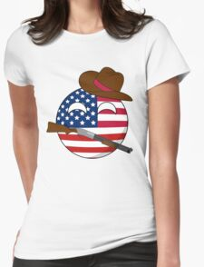 USA Ball Womens Fitted T-Shirt