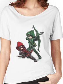 Green Arrow Women's Relaxed Fit T-Shirt