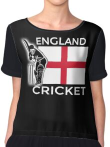 England Cricket Chiffon Top