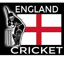 England Cricket Photographic Print
