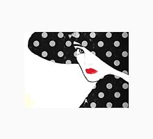 Polka Dot Hat Girl Unisex T-Shirt