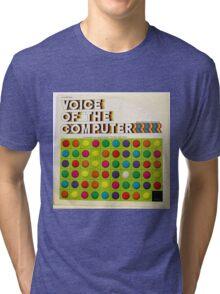 The Voice Of The Computer vintage lp cover Tri-blend T-Shirt