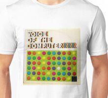 The Voice Of The Computer vintage lp cover Unisex T-Shirt