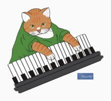 Key_Cat Kids Tee