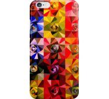 Spiraling roses iPhone Case/Skin