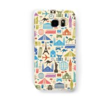 Icons of Travel Samsung Galaxy Case/Skin