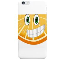Cartoon Orange Shirt Mugs iPhone Case/Skin