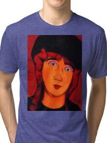 portrait of lolottle Tri-blend T-Shirt