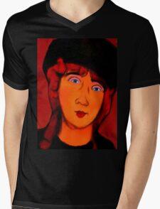 portrait of lolottle Mens V-Neck T-Shirt