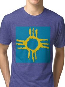 Native American Sun 3 Tri-blend T-Shirt