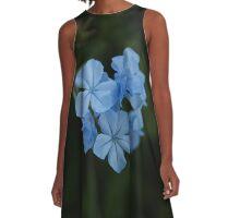 Baby Blue A-Line Dress