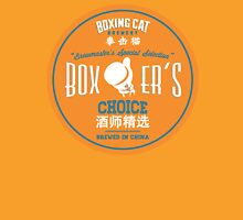 Boxing Cat Brewery  Boxer`s Choice Chinese Beer Unisex T-Shirt