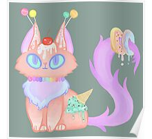 Candy Cat Poster