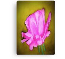 pretty pink flower Canvas Print