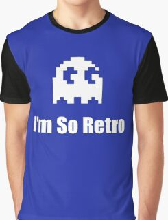 I'm So Retro - Computer Gamer T-Shirt Graphic T-Shirt