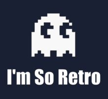 I'm So Retro - Computer Gamer T-Shirt Kids Tee
