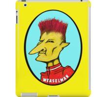 Weaselman Villain   iPad Case/Skin