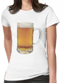 BEER-3 Womens Fitted T-Shirt