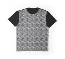 Floating Flowers ( black ) Graphic T-Shirt