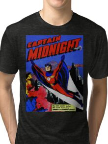 captain midnight in flight Tri-blend T-Shirt