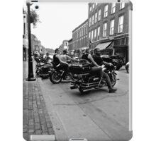 Bikers on Main Street iPad Case/Skin