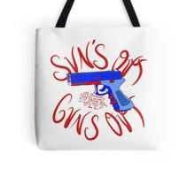 Please Outlaw Assault Weapons Tote Bag
