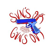 Please Outlaw Assault Weapons Photographic Print