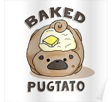 Baked Pugtato Poster