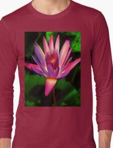 astounding native hawaiian flower Long Sleeve T-Shirt