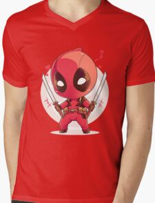 Deadpool cibby Mens V-Neck T-Shirt