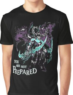 Warcraft - You Are Not Prepared Graphic T-Shirt