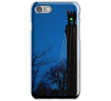 Provicetown blue night, Cape Cod iPhone Case/Skin