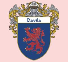 Davila Coat of Arms/Family Crest Baby Tee
